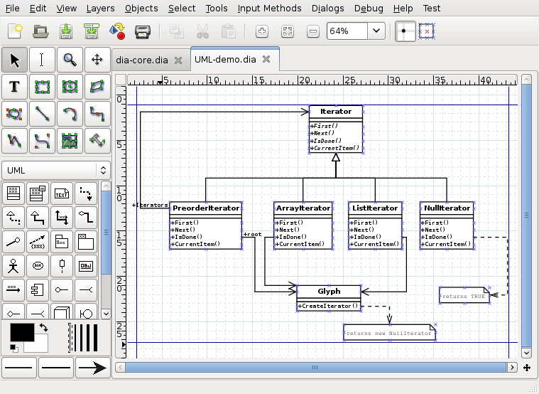 Chapter 2 quickstart dia tabbed diagramming ccuart Images