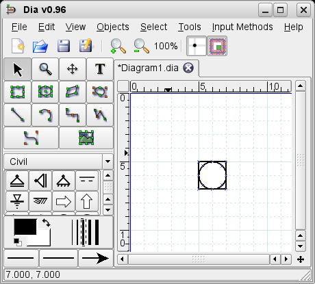 How to add a new shape to dia pre silo shape in dia ccuart Gallery