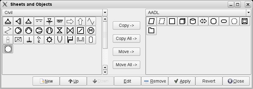 How to add a new shape to dia updated sheets and objects dialog ccuart Image collections