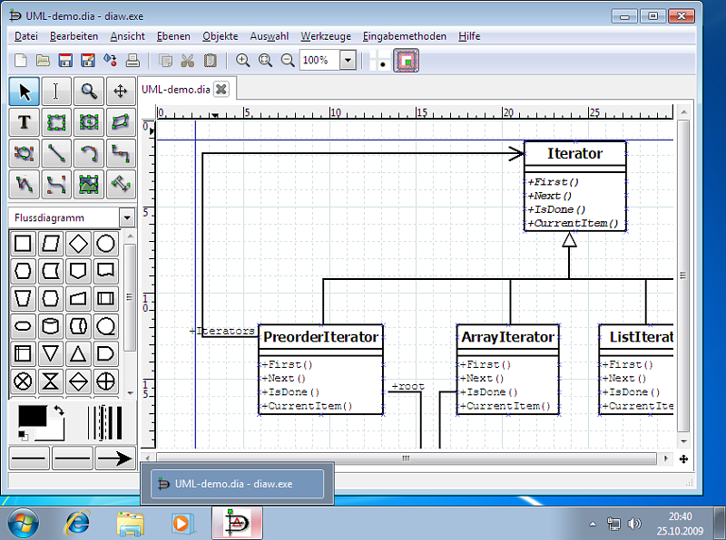 Dia creador de diagramas taringa Diagram drawing software free download
